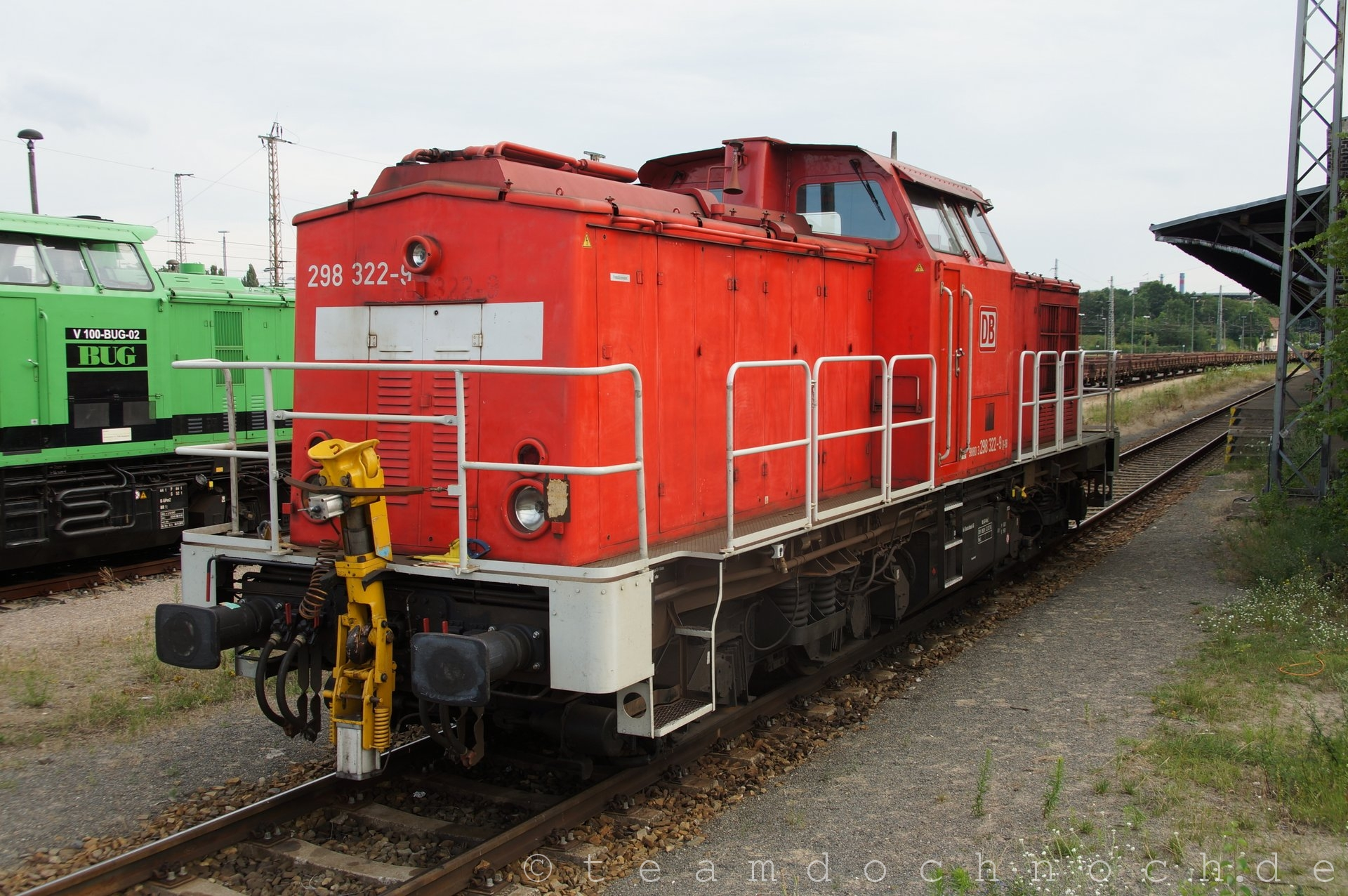 Private und DB AG in Eberswalde
