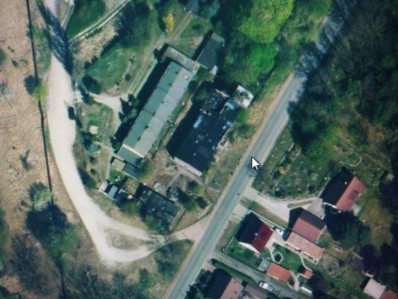 Abriss des Landhaus Germania