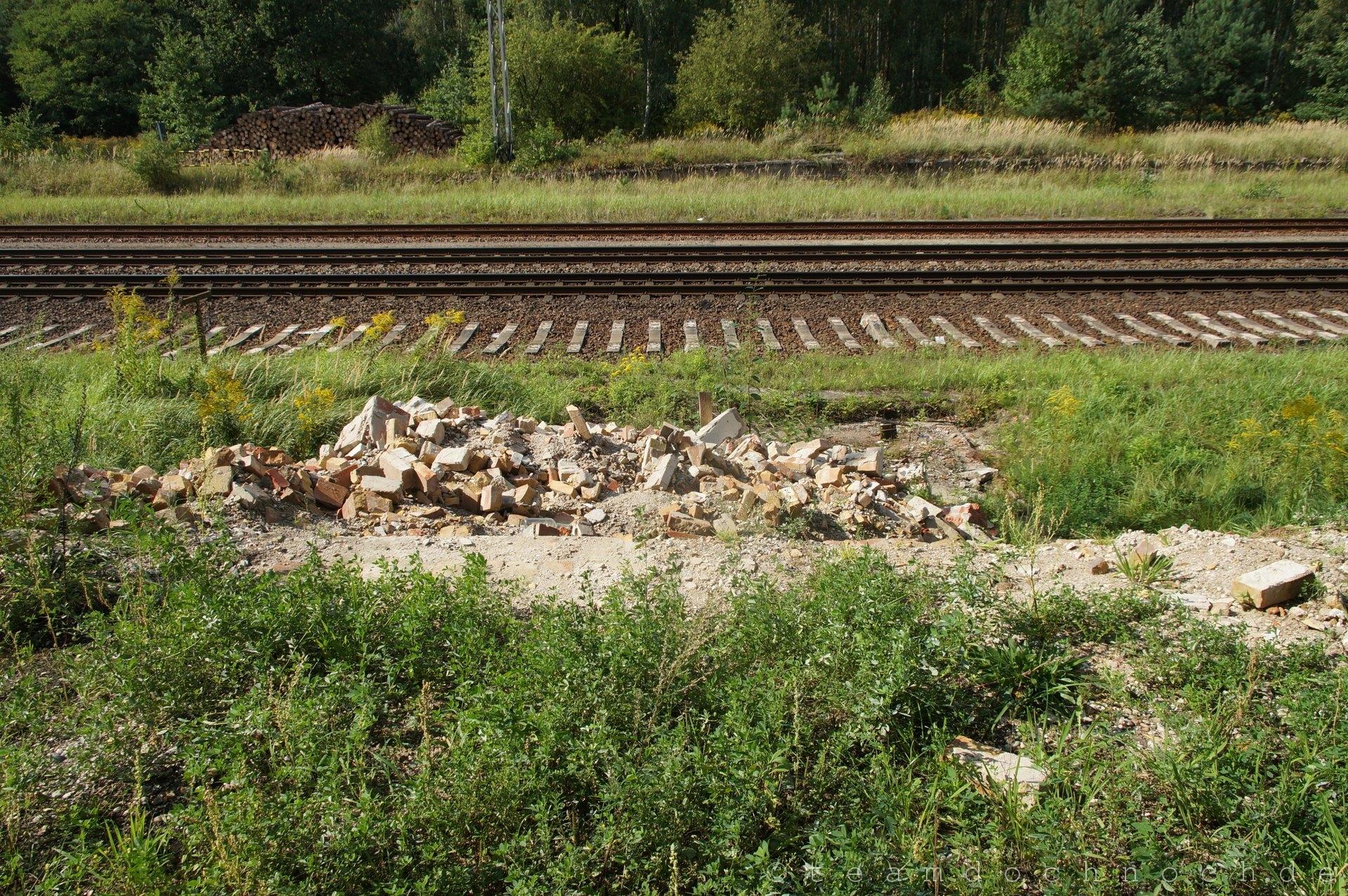 Stellwerk in Biesenthal abgerissen