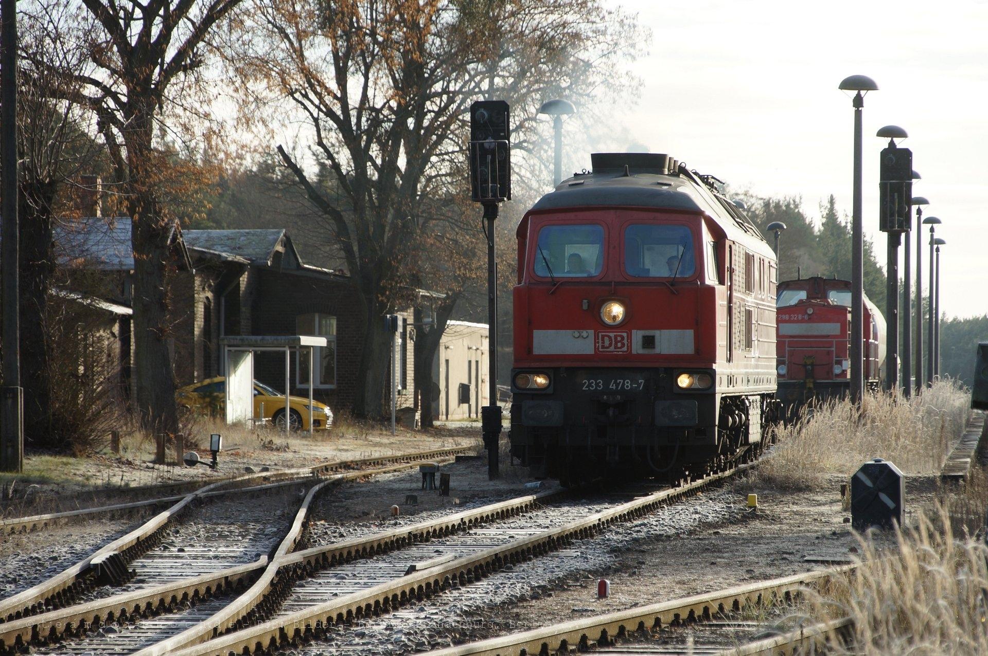 Zugtrennung und Weiterfahrt