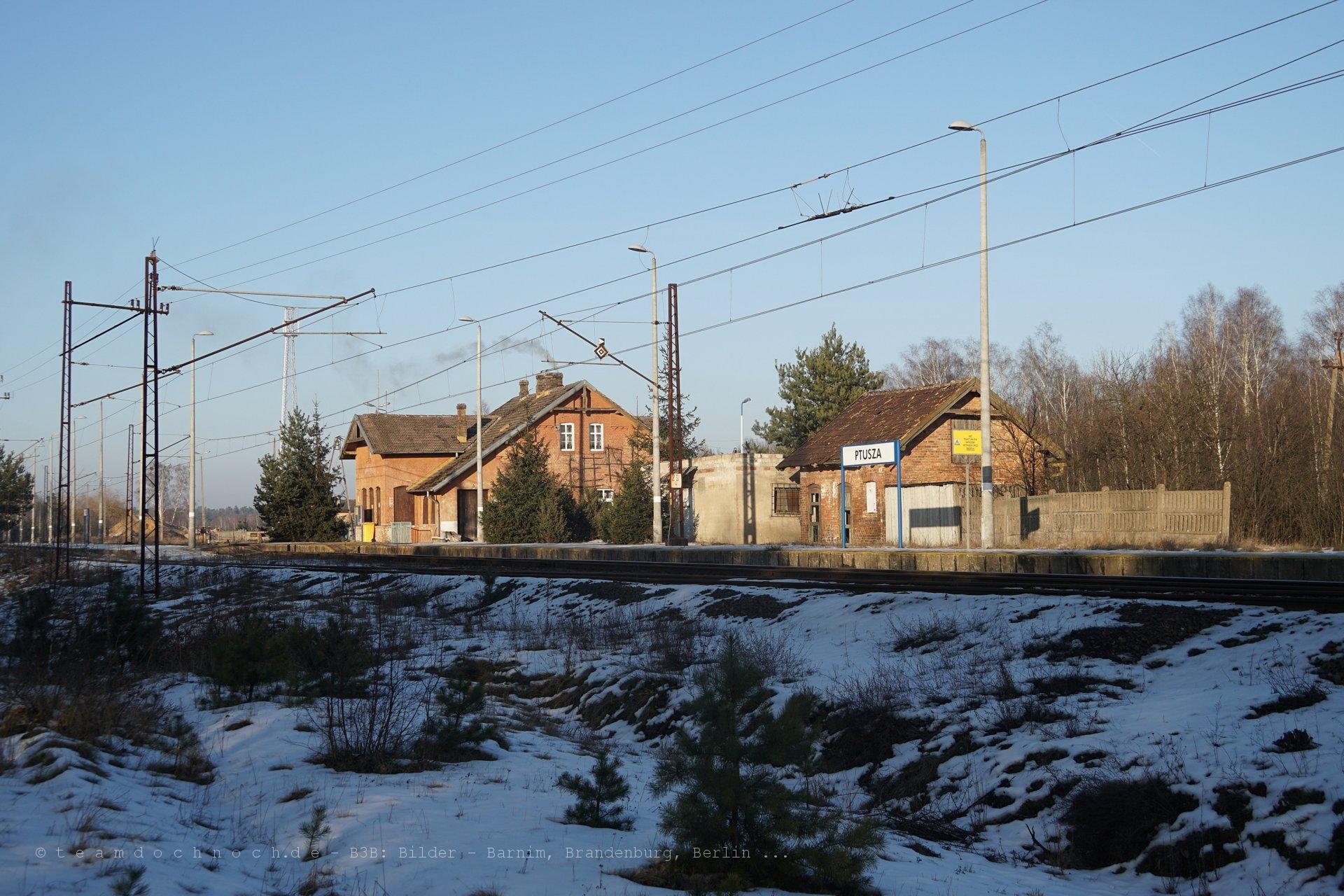 Bahnhof Ptusza