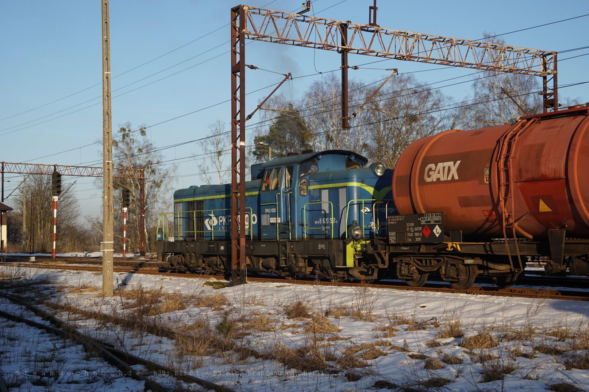 SM42 1093 und einige Kesselwagen