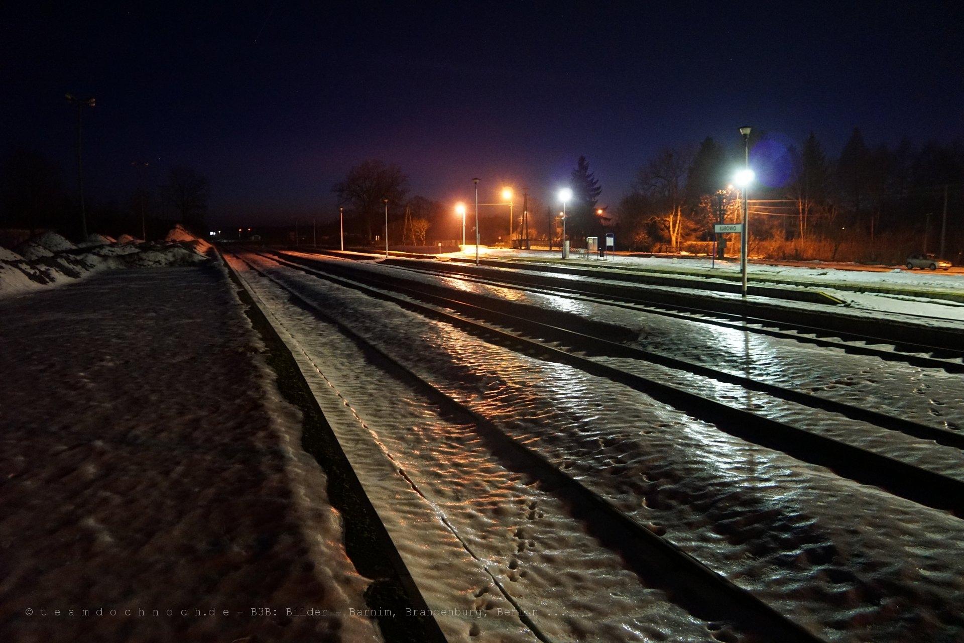 Bahnhof von Łubowo (województwo zachodniopomorskie)