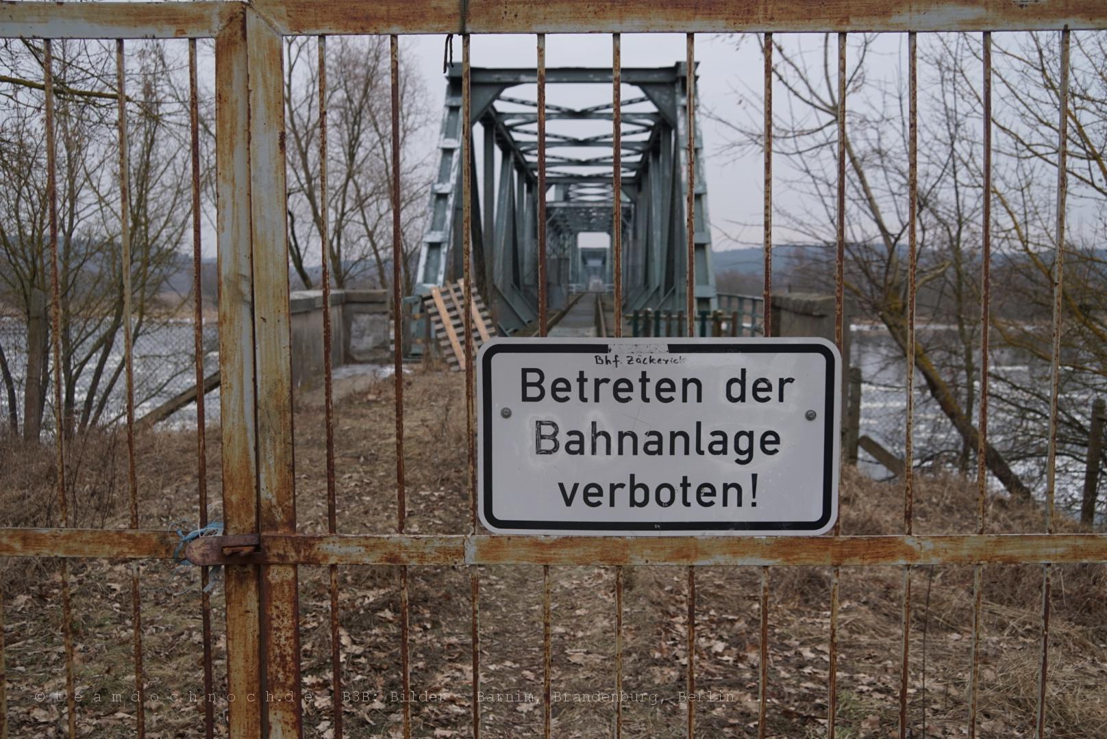 Oderbrücke Bienenwerder