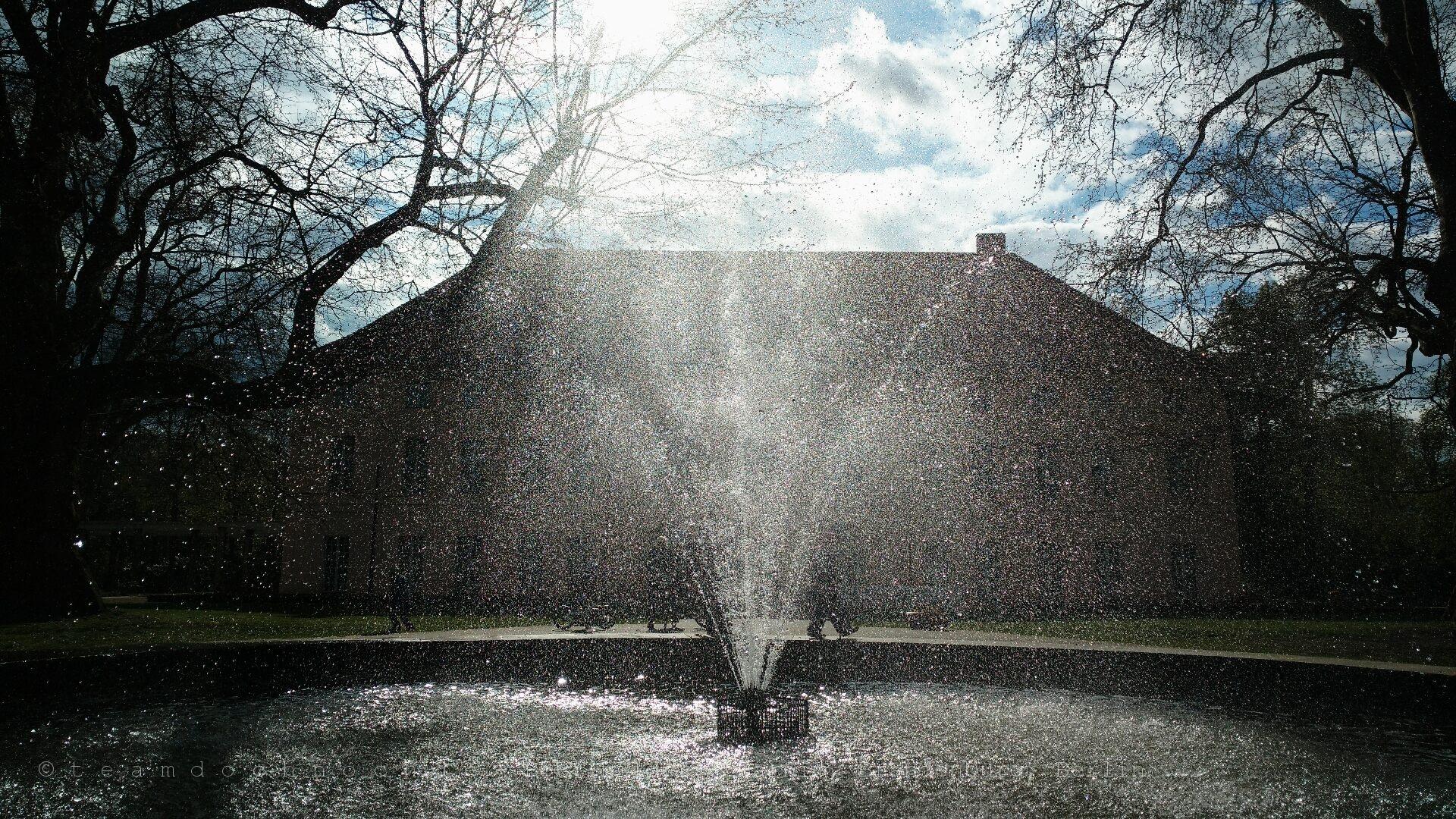 Springbrunnen am Schloss Niederschönhausen
