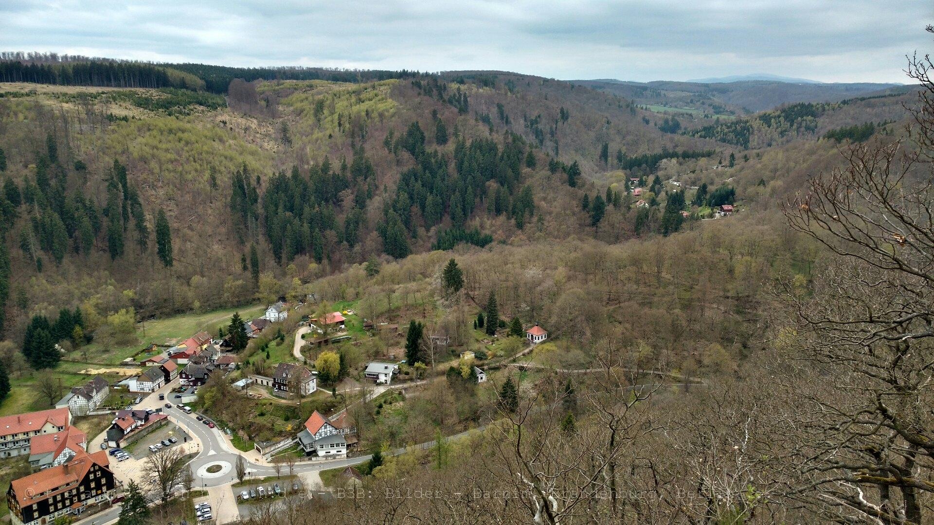 Brockenblick über Treseburg