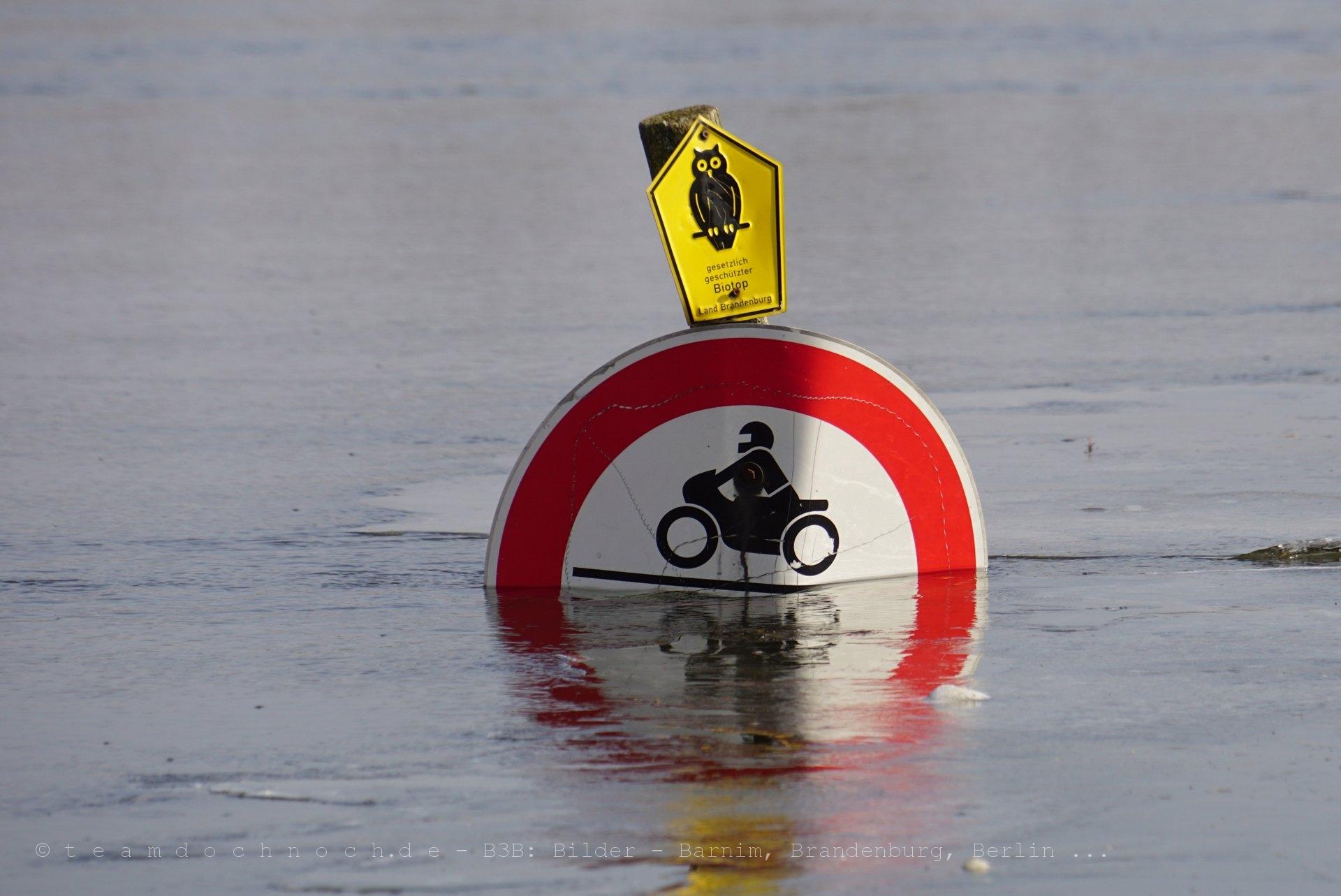 Verbot für Kraftfahrzeuge
