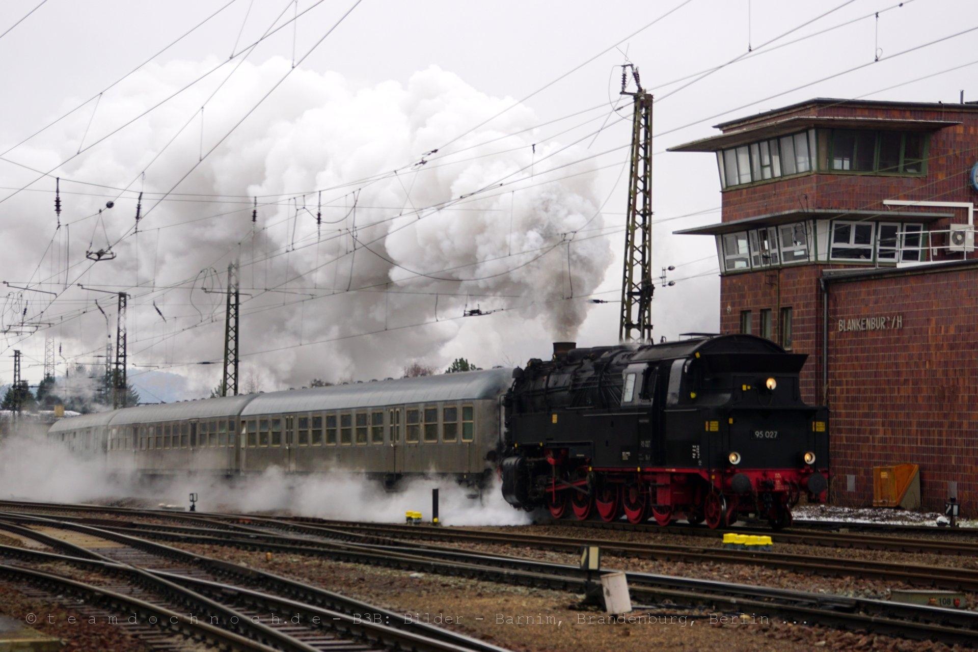 95 027 am Stellwerk in Blankenburg/Harz