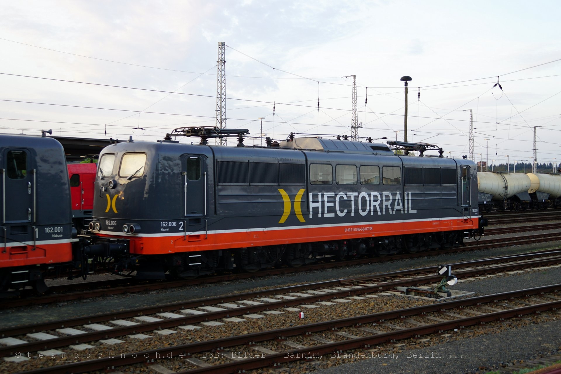 Hectorrail 162.001 und 162.006 in Eberswalde