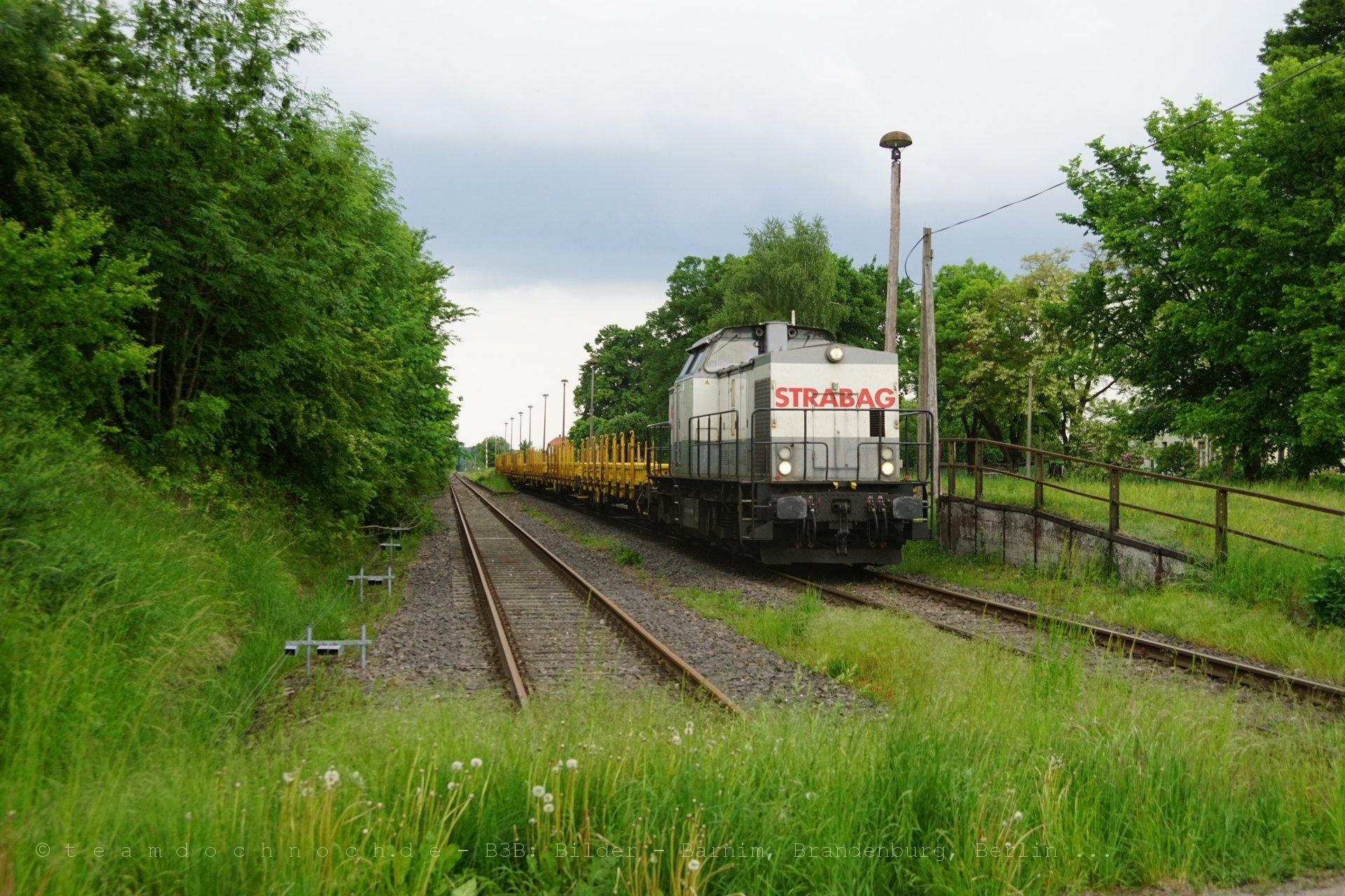 STRABAG V100 in Friedrichswalde