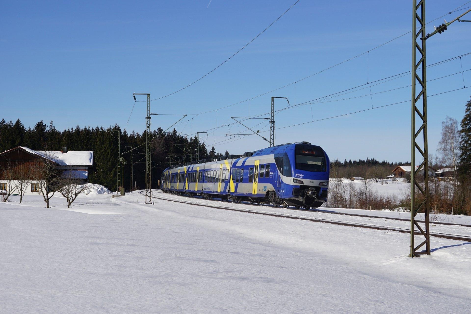 Meridian ET321 auf dem Weg nach Salzburg