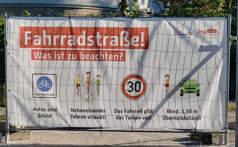 Fahrradstraße einfach erklärt