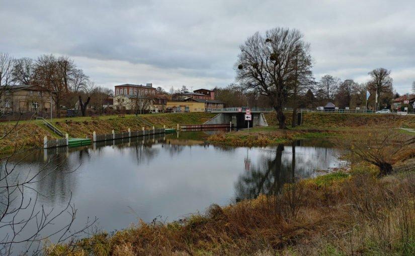 Unterer Vorhafen der Schleuse Schöpfurth