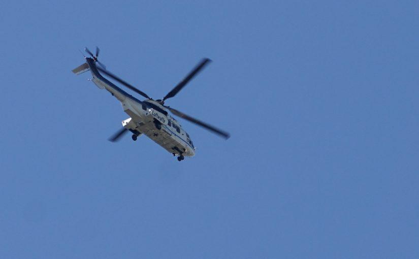 Die Luftwaffe über dem Dach