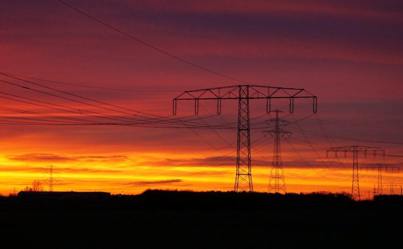 Wege der Energie am Morgen