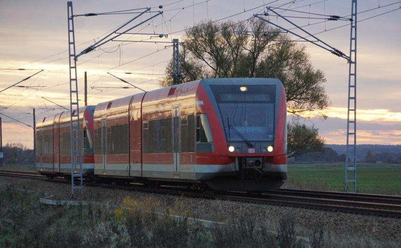 Doppel-GTW auf dem Weg nach Szczecin