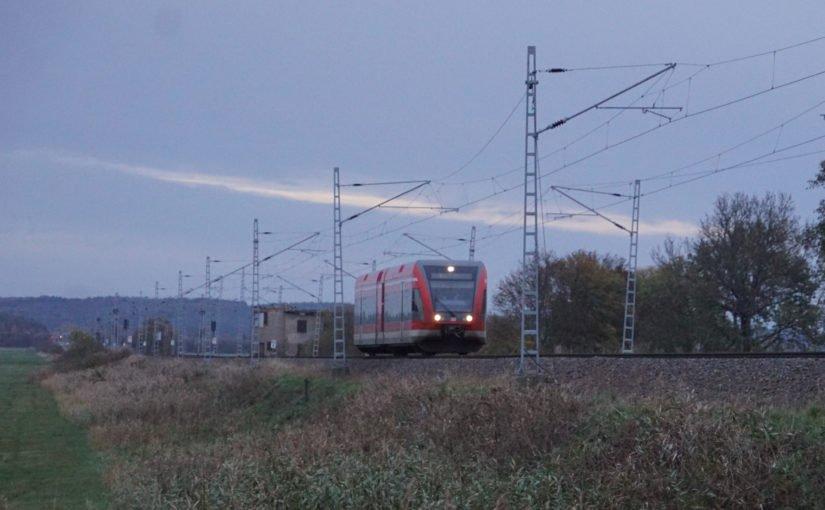 Der Gegenzug: ein einzelner GTW 2/6