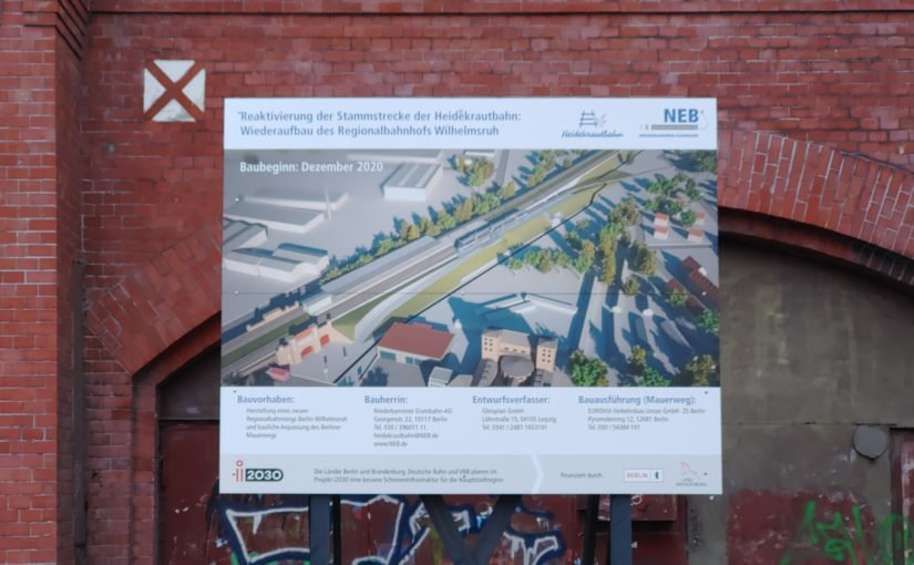 Bhf. Wilhelmsruh – Ursprung der Heidekrautbahn