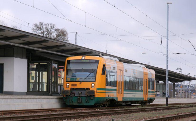 ODEG VT 650.54 in Neustrelitz