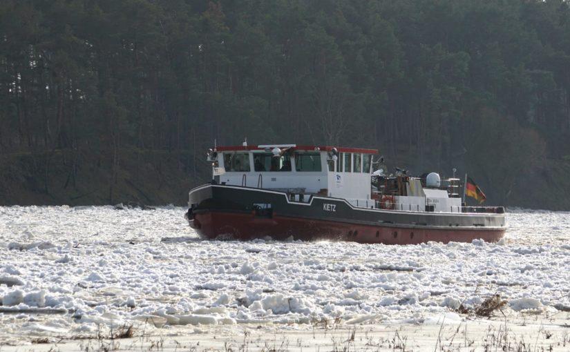 Eisbrecher Kietz auf der Oder