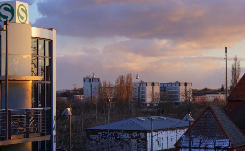 Blick auf den Fernsehturm