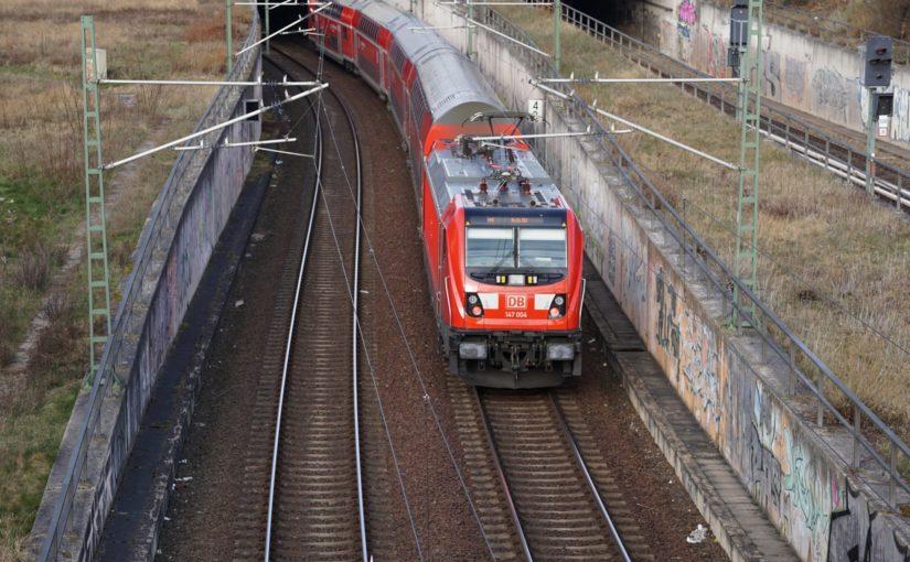 FEX18914 kurz vor dem Bahnhof Gesundbrunnen