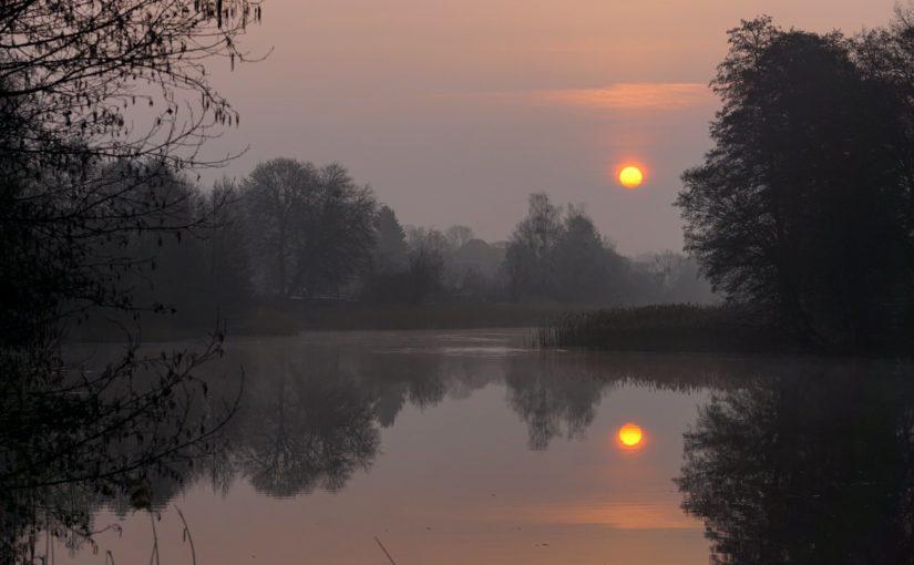 Etwas Morgensonne am Finowkanal