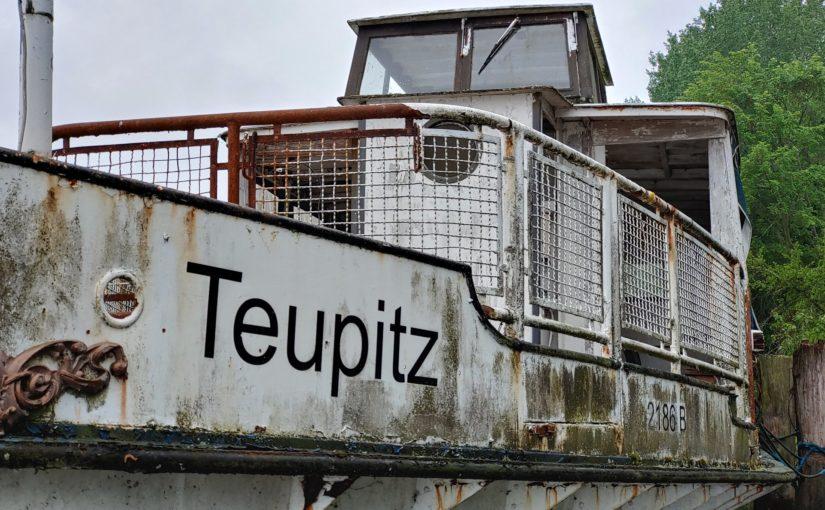 Dampfer Teupitz auf dem Teupitzer See