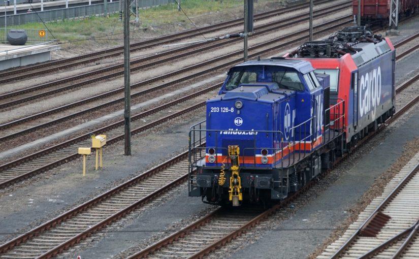 Raildox 203 126-8 in Eberswalde