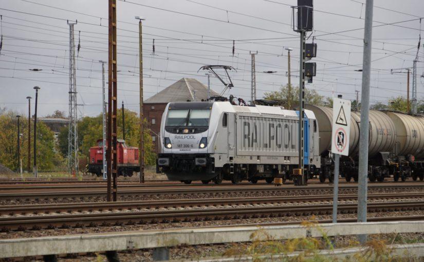 RAILPOOL 187 306-6 in Angermünde