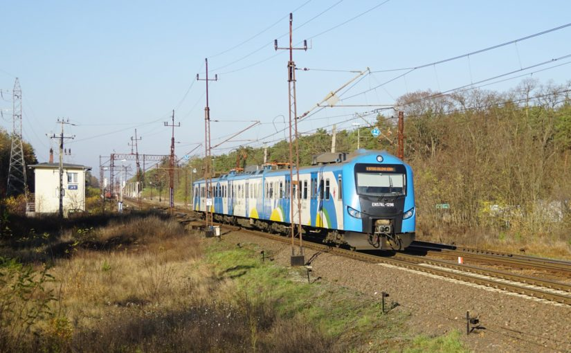 EN57AL-1296 als R 87500 nach Zielona Góra in Jezmanice Lubuskie