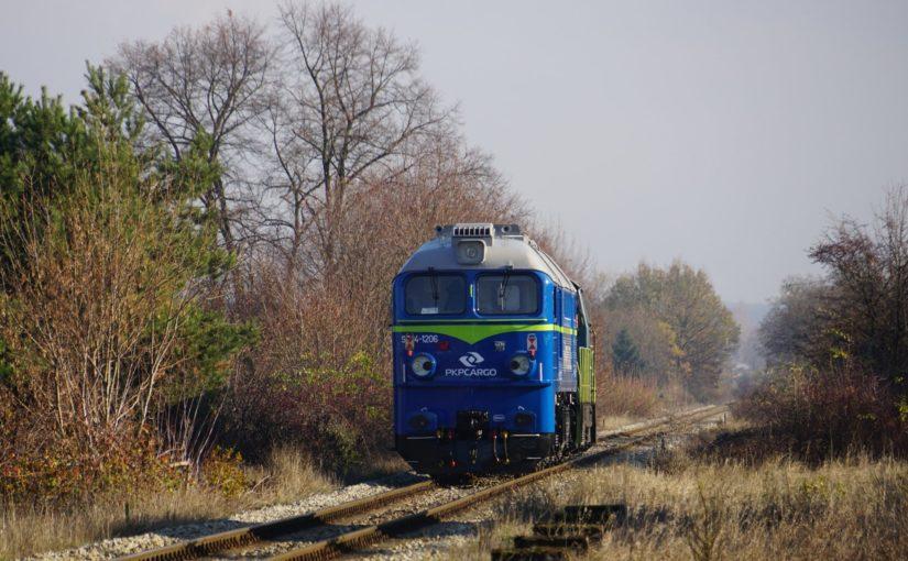 SM42-1100 und ST44-1206 im Schlepptau in Nietków