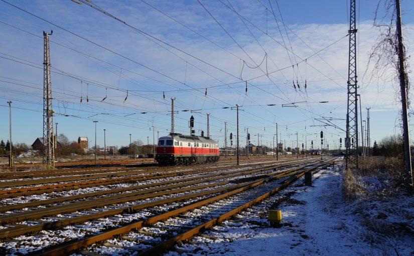 232 045-5 rangiert in Angermünde