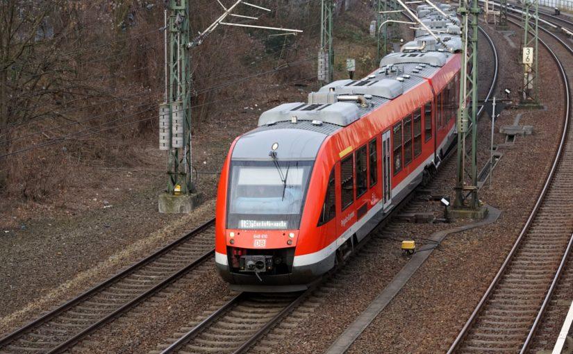 Prignitz-Express kurz vor Berlin Gesundbrunnen