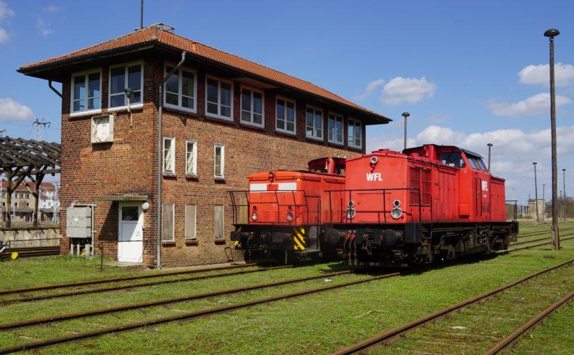 WFL 1 und WFL 12 sonnen sich in Neustrelitz