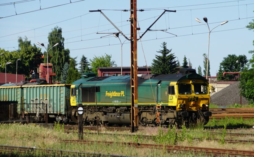 FPL 66002 / 650 001-2 wartet im Bahnhof von Goleniów