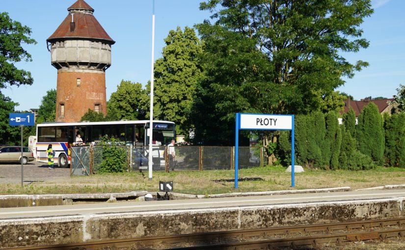 Bahnhof von Płoty