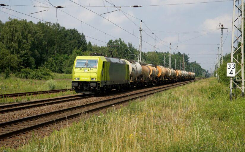 ALPHA TRAINS 119 005-6 durchfährt Biesenthal nach Süden