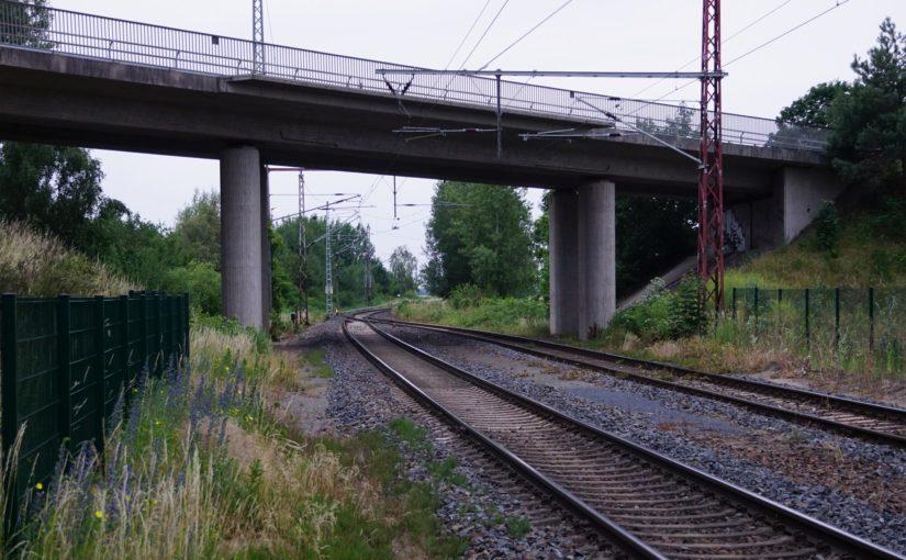 B87-Brücke am Bahnhof Herzberg (Elster)