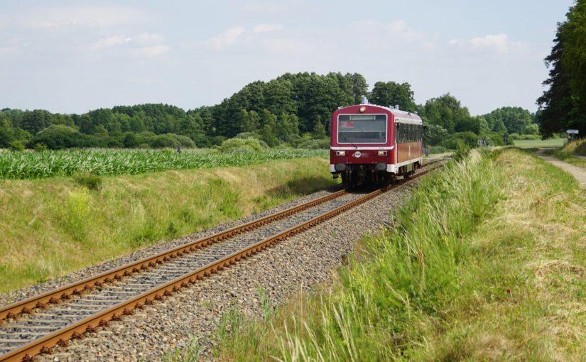 HANS VT43 auf dem Weg nach Mirow