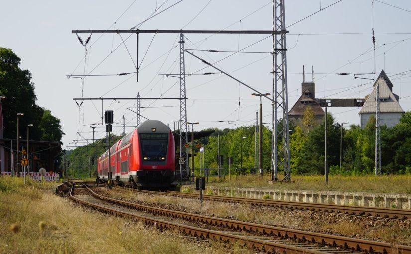 RE5 nach Stralsund Hbf in Fürstenberg / Havel