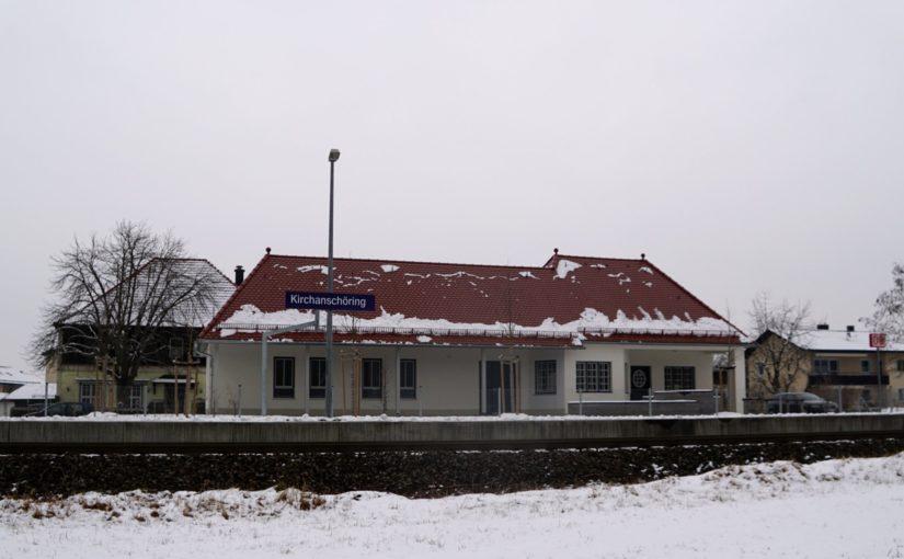 Empfangsgebäude Bahnhof Kirchanschöring