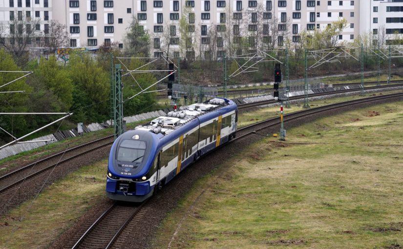 VT 632.005 der NEB im Dreieck Gesundbrunnen