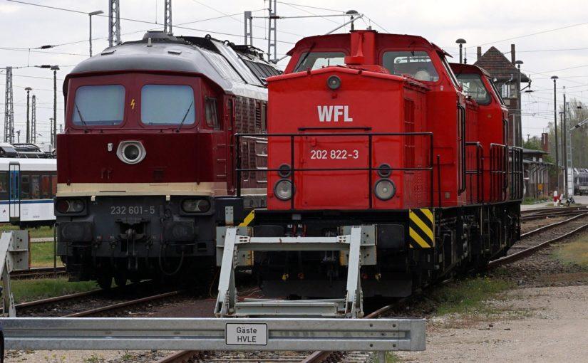 V100 und V300 der WFL in Wustermark
