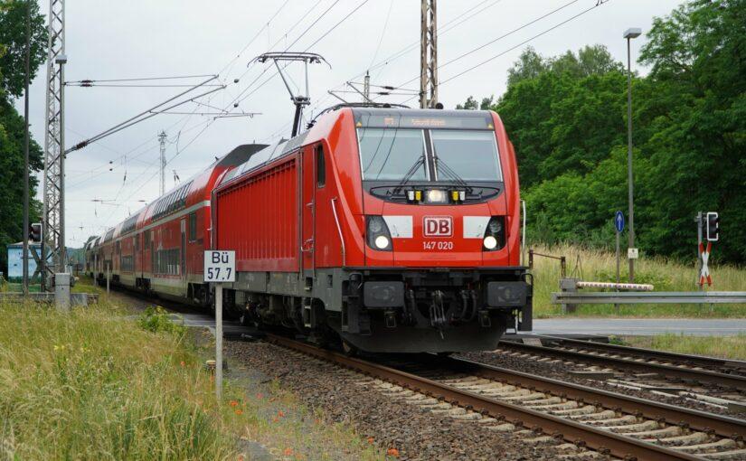 RE3 nach Schwedt / Oder in Chorin