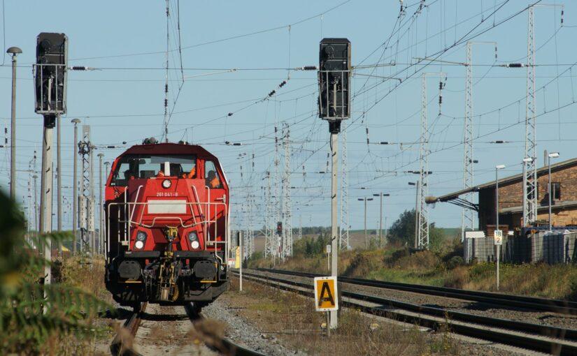 261 041-8 der DB AG in Teutschenthal