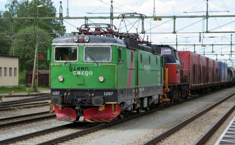 Green Cargo 1287 in Vännäs