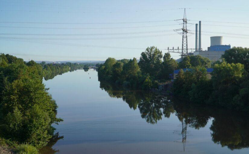 Schleuse Lisdorf und Kraftwerk Ensdorf