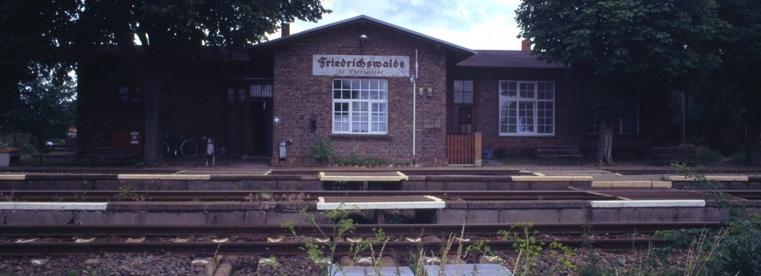 Bahnhof Friedrichswalde