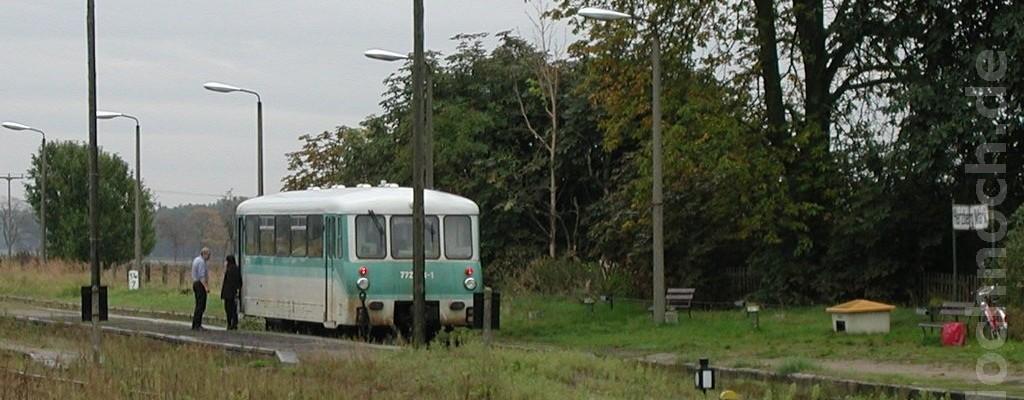 Triebwagen 772 173-1 in Herzberg (Mark)